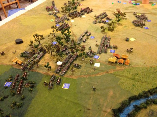 Turn 4 was quiet as everyone tried to revise their plans, but turn 5 exploded with French advances.