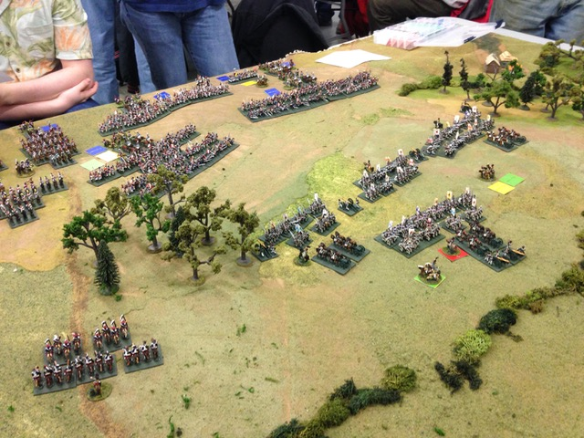 Battle of Loubino, 1812 using ESR